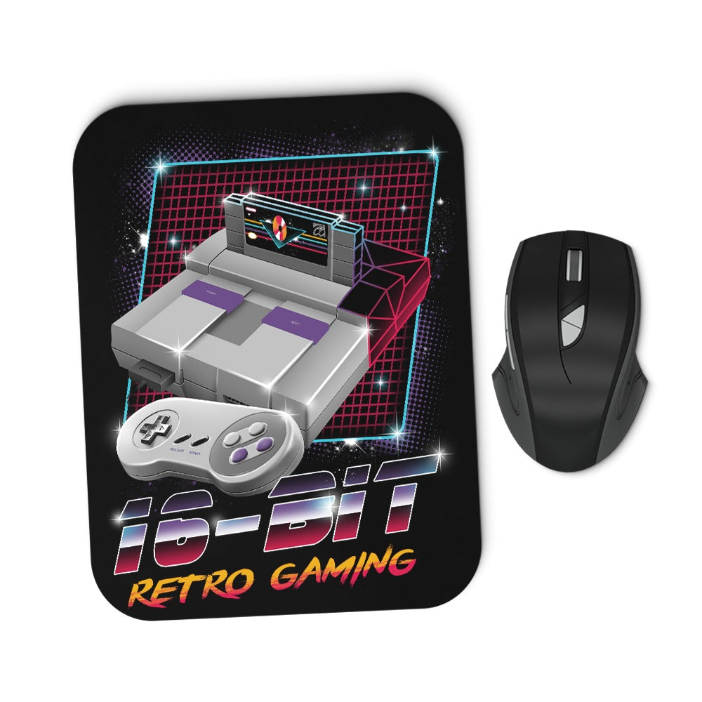 16-Bit Retro Gaming - Mousepad