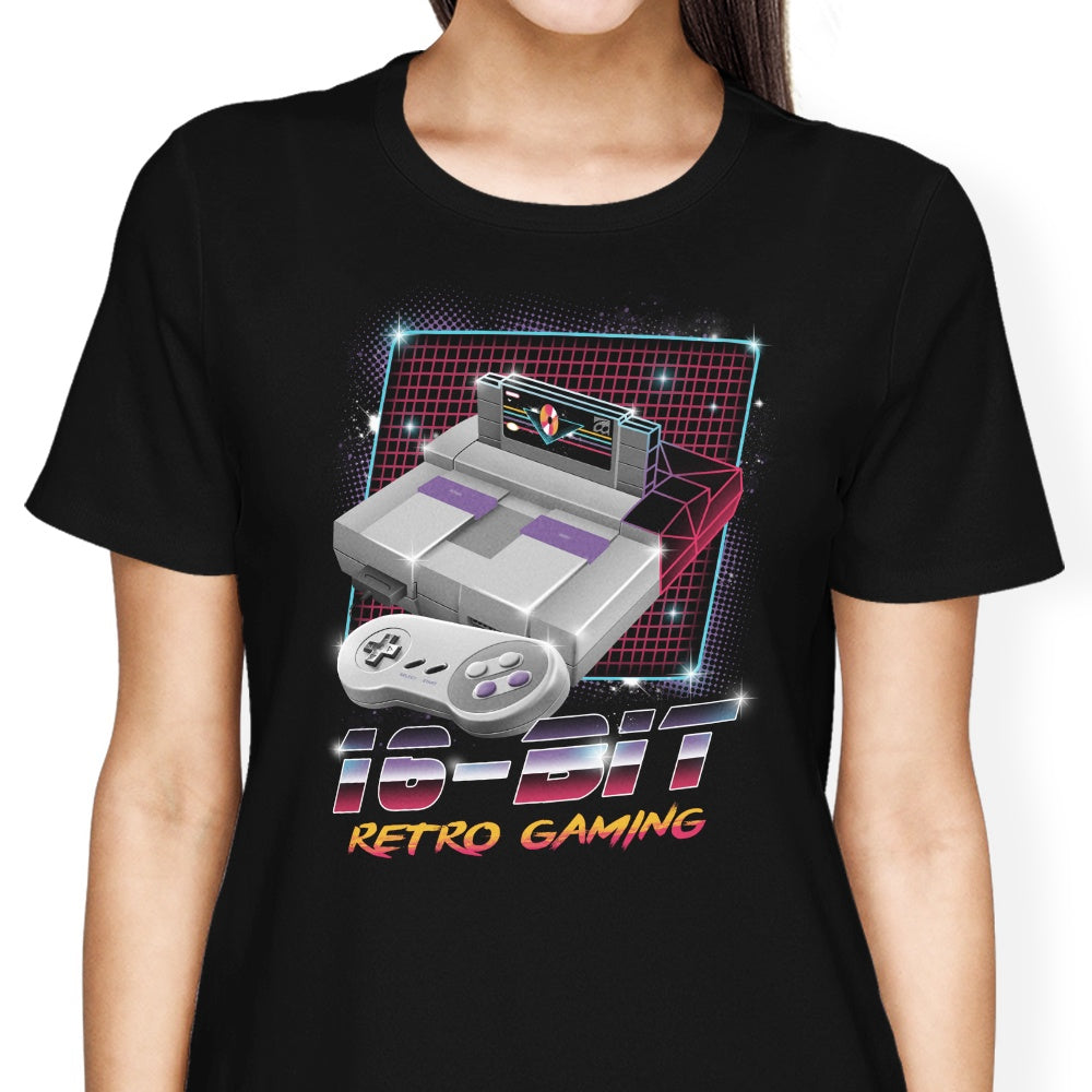 16-Bit Retro Gaming - Women's Apparel