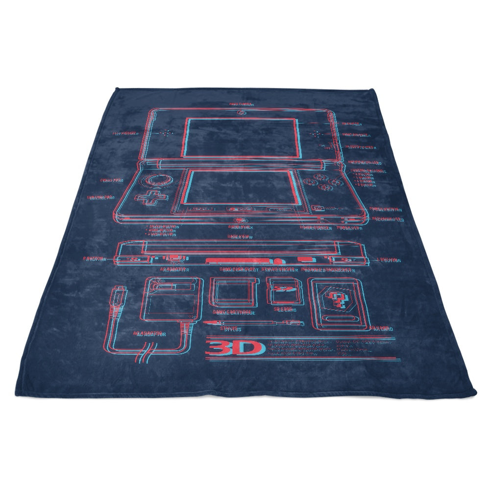 3DS - Fleece Blanket