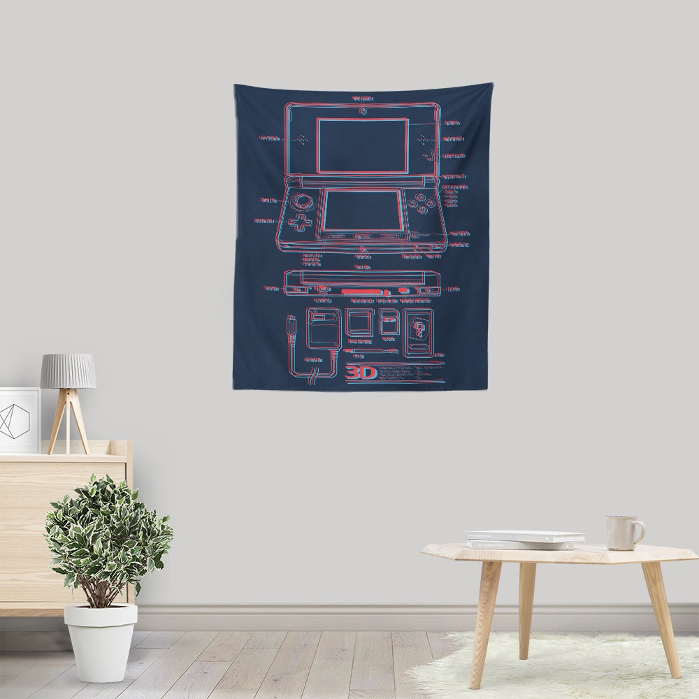 3DS - Wall Tapestry