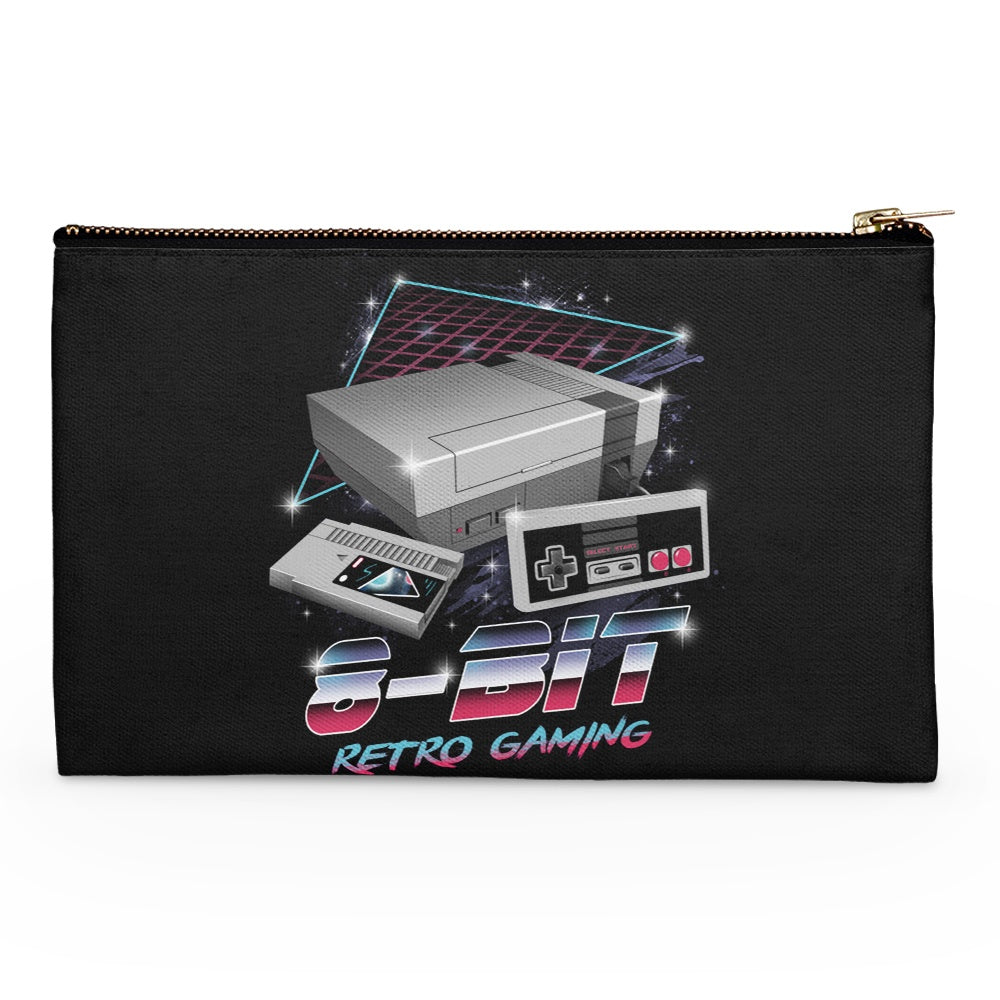 8-Bit Retro Gaming - Accessory Pouch
