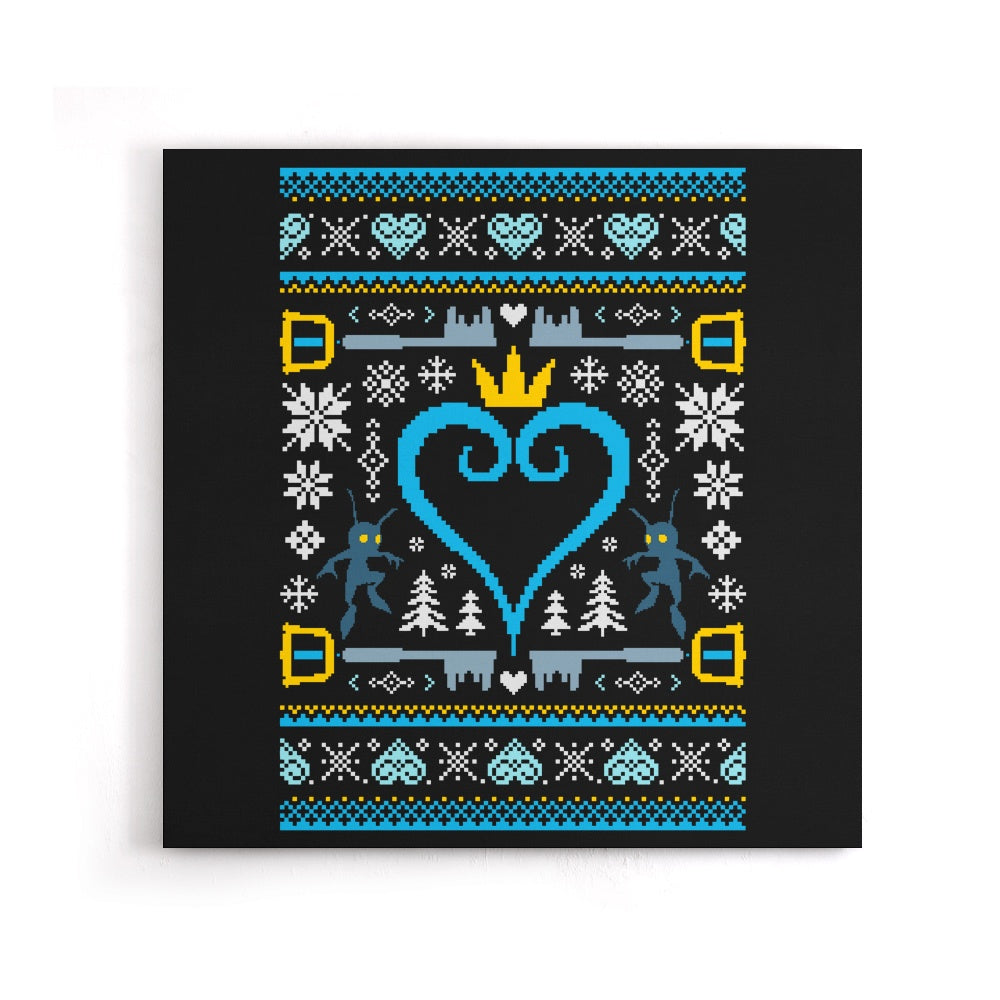 A Kingdom Christmas - Canvas Print