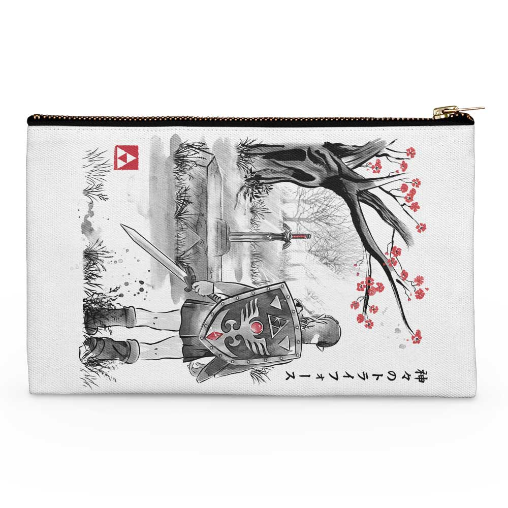 A Link to the Sumi-e - Accessory Pouch