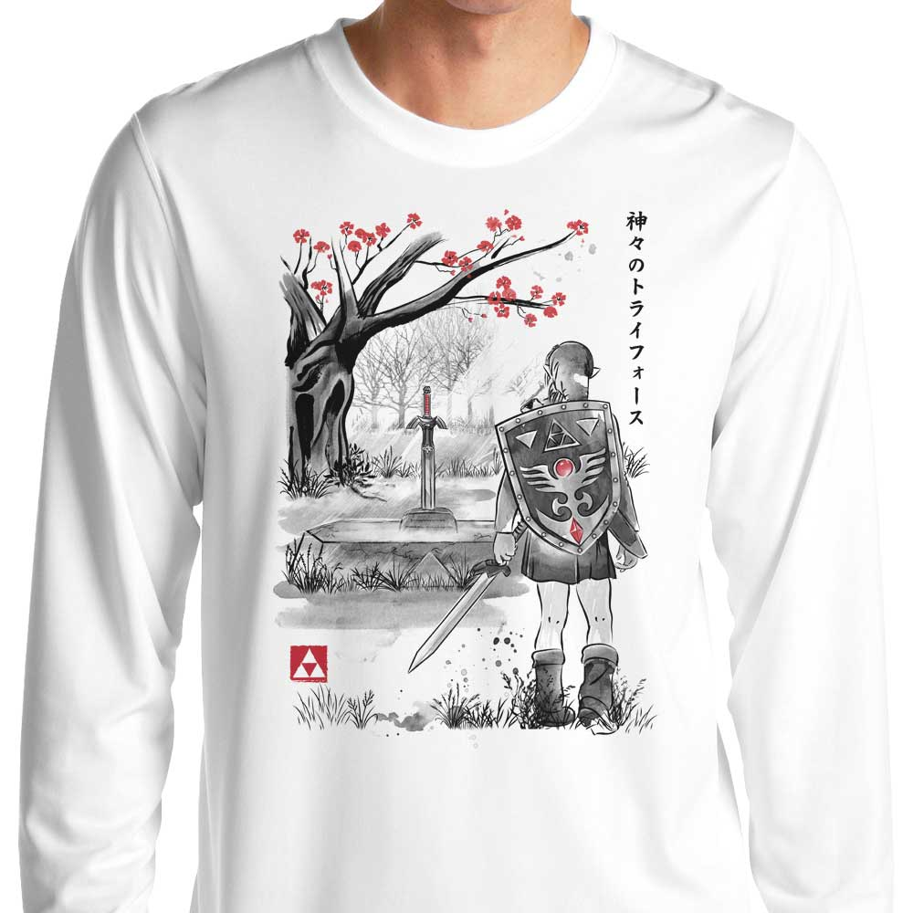 A Link to the Sumi-e - Long Sleeve T-Shirt