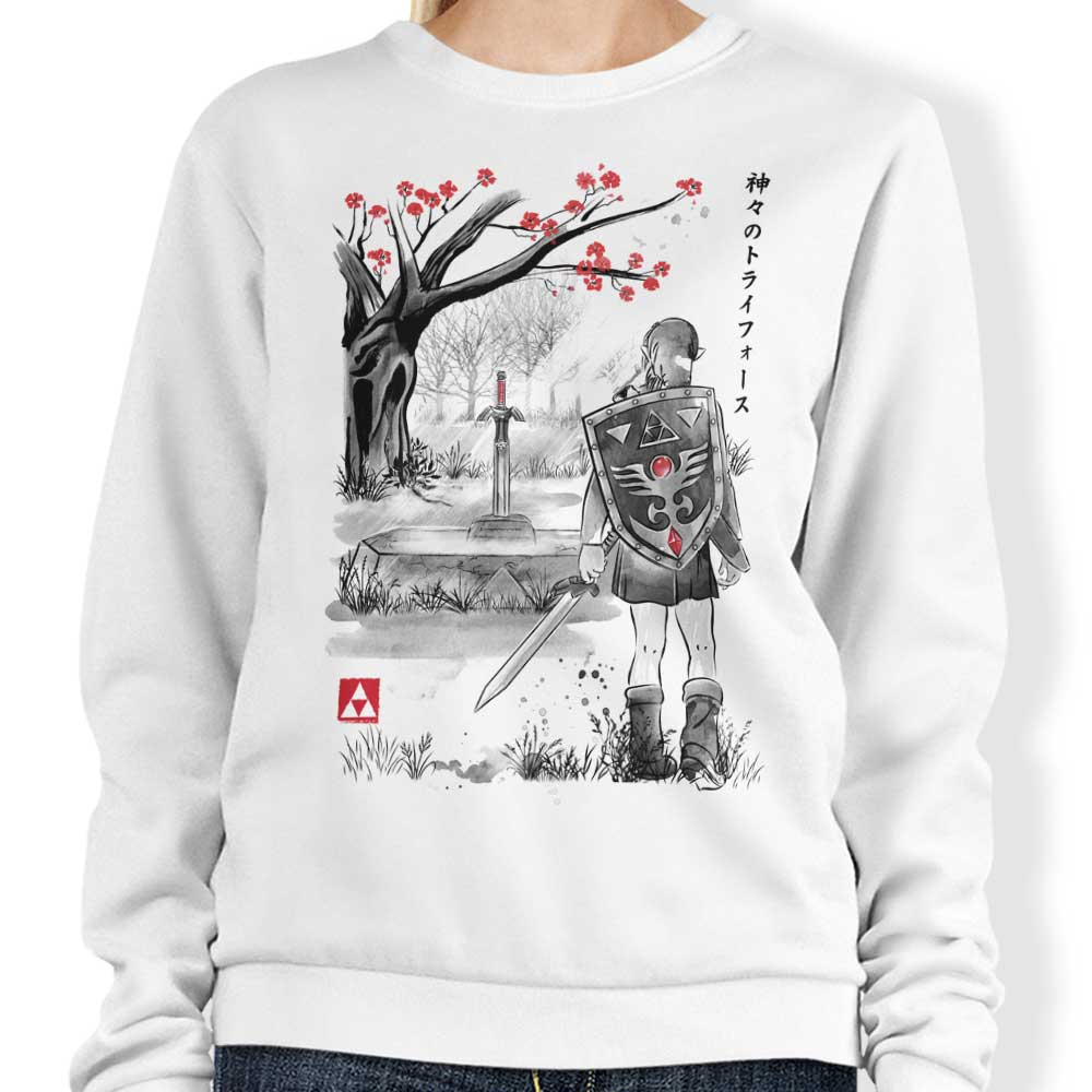 A Link to the Sumi-e - Sweatshirt