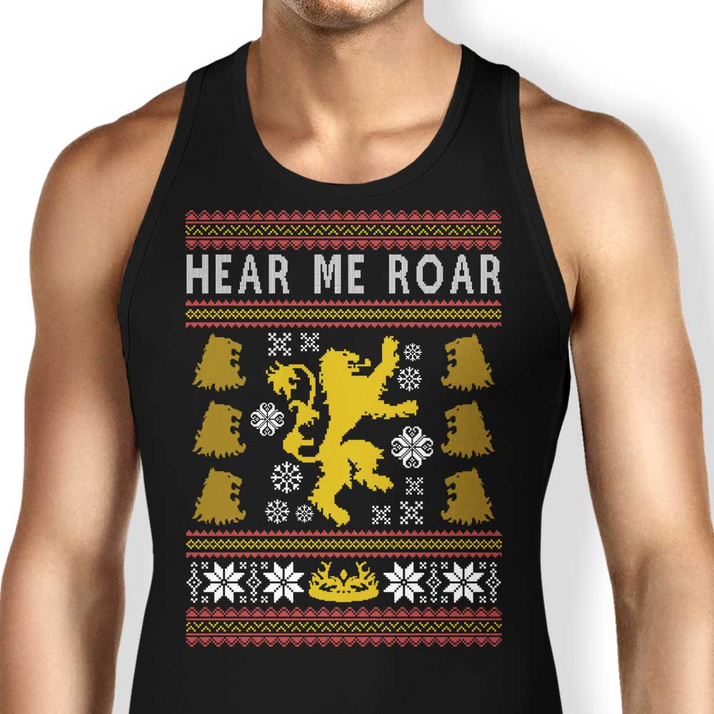 A Lion Always Wraps Their Gifts - Tank Top