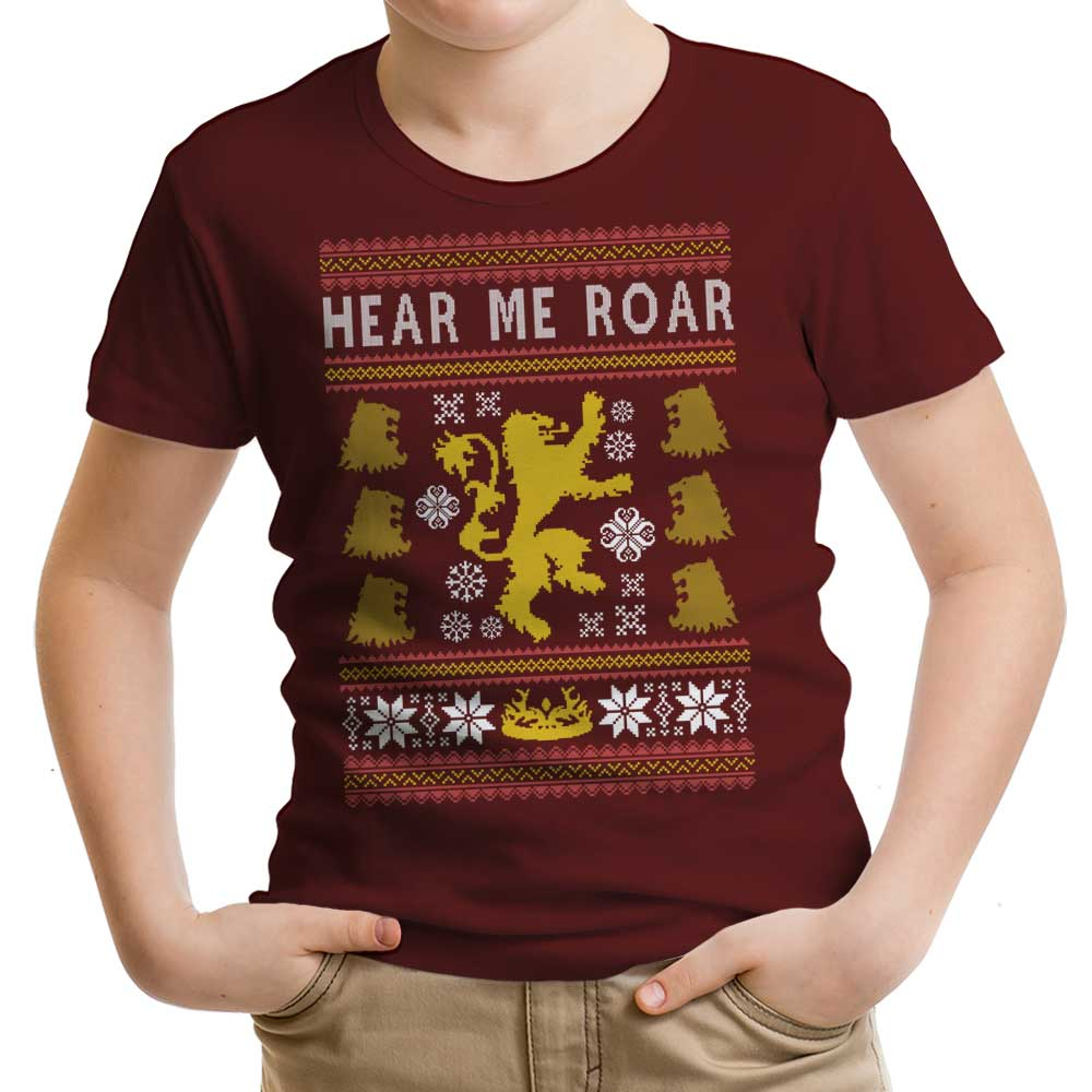 A Lion Always Wraps Their Gifts - Youth Apparel