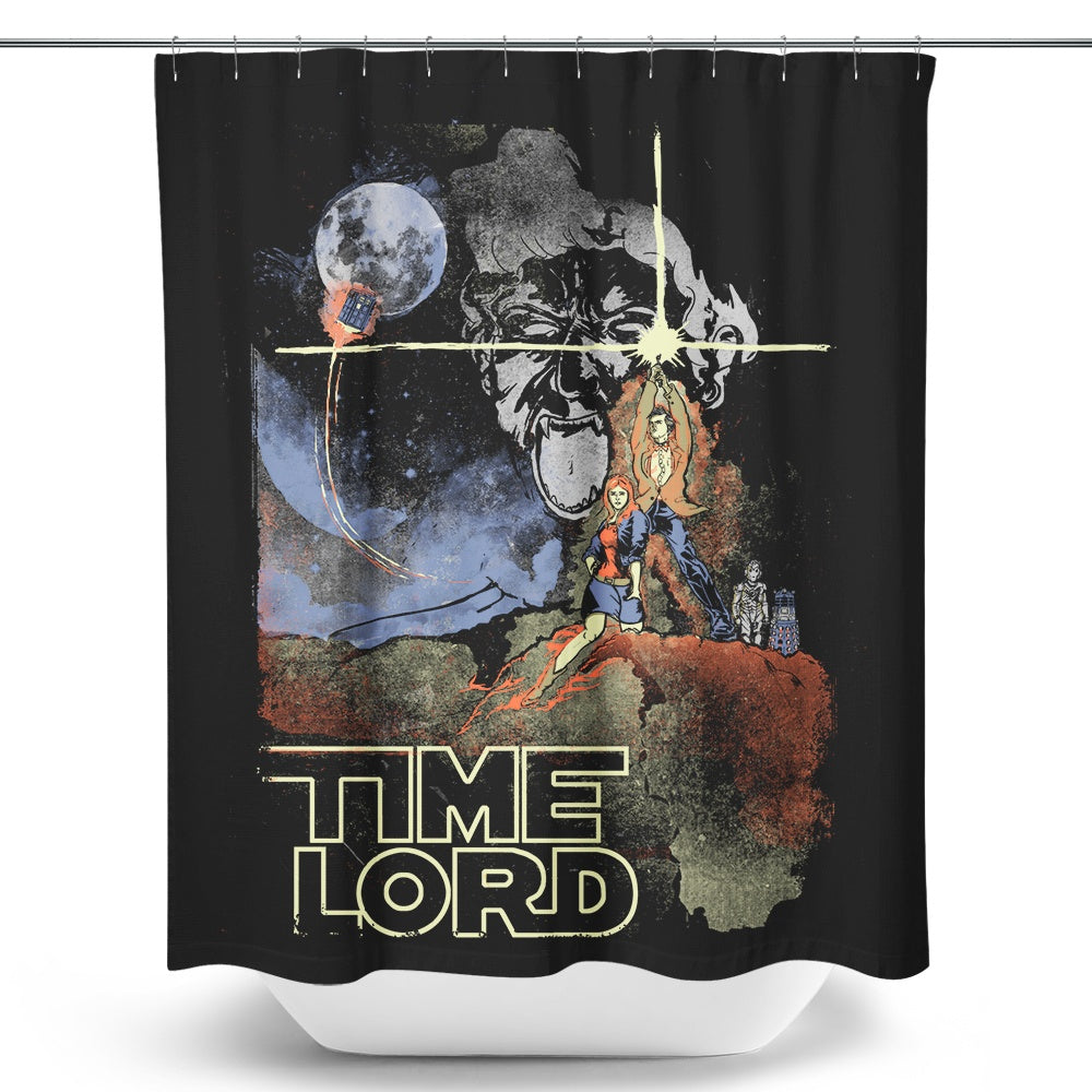 A New Time - Shower Curtain