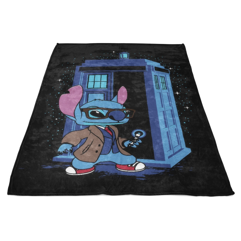 A Stitch in Time - Fleece Blanket