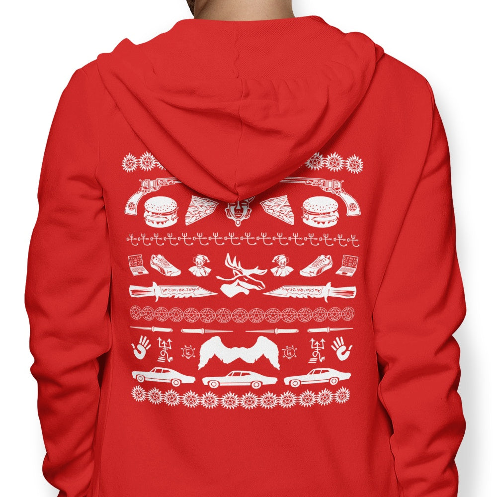 A Very Supernatural Christmas - Hoodie