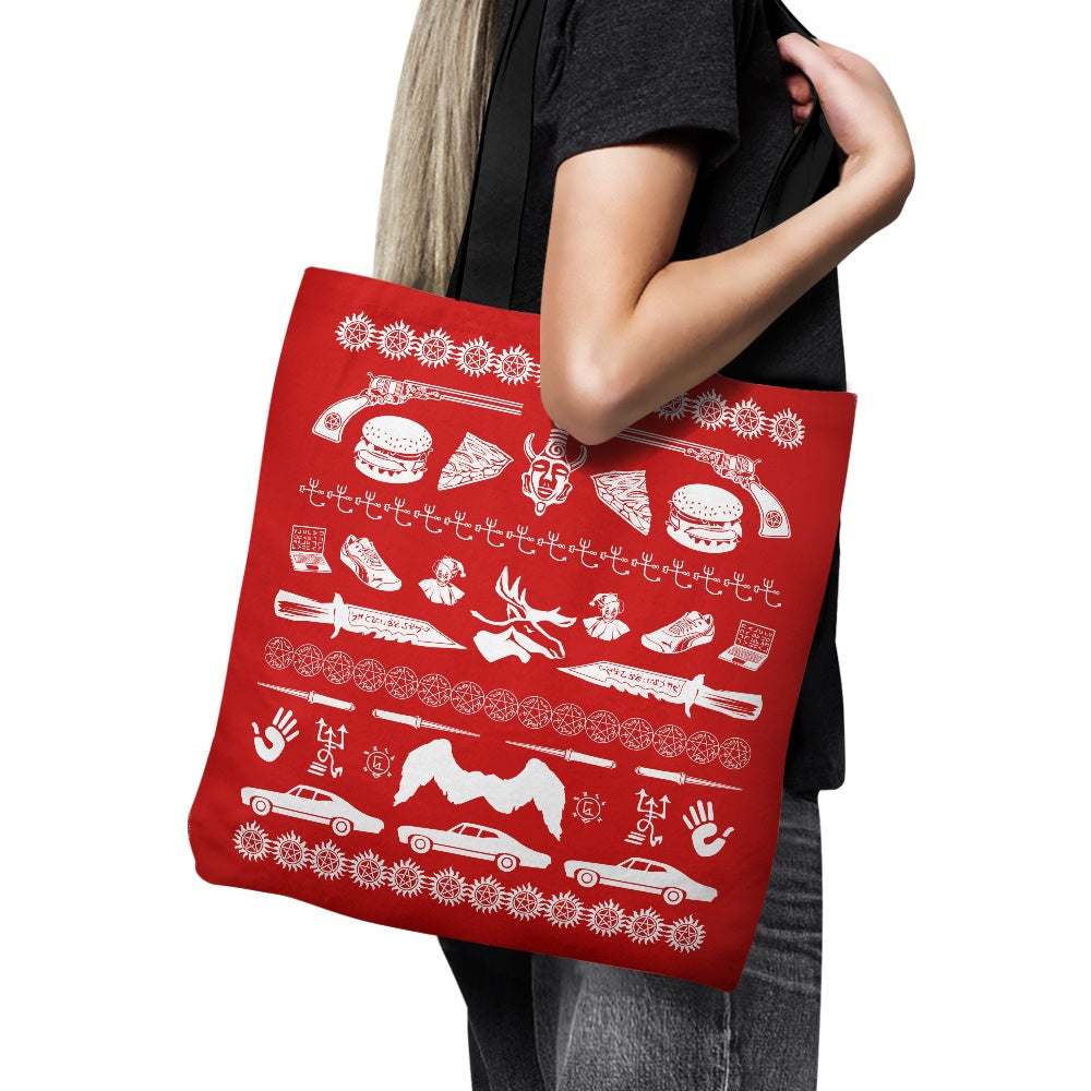 A Very Supernatural Christmas - Tote Bag