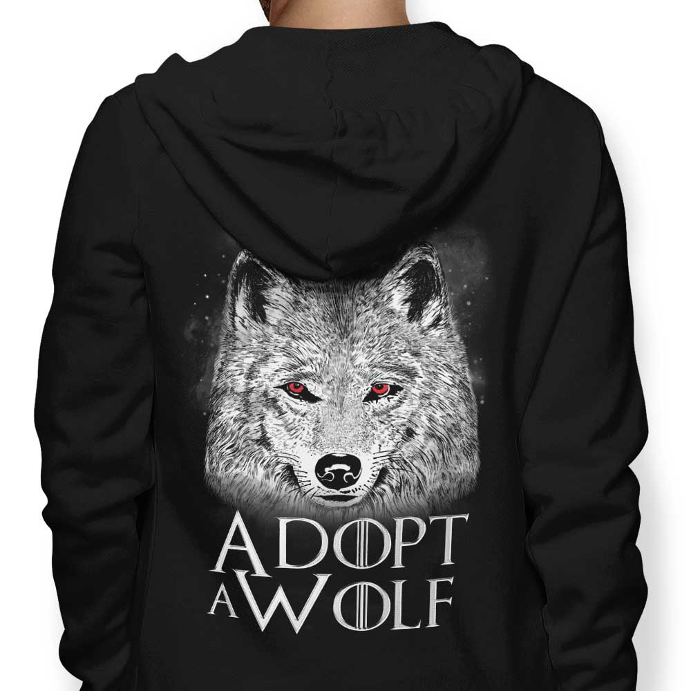 Adopt a Wolf - Hoodie