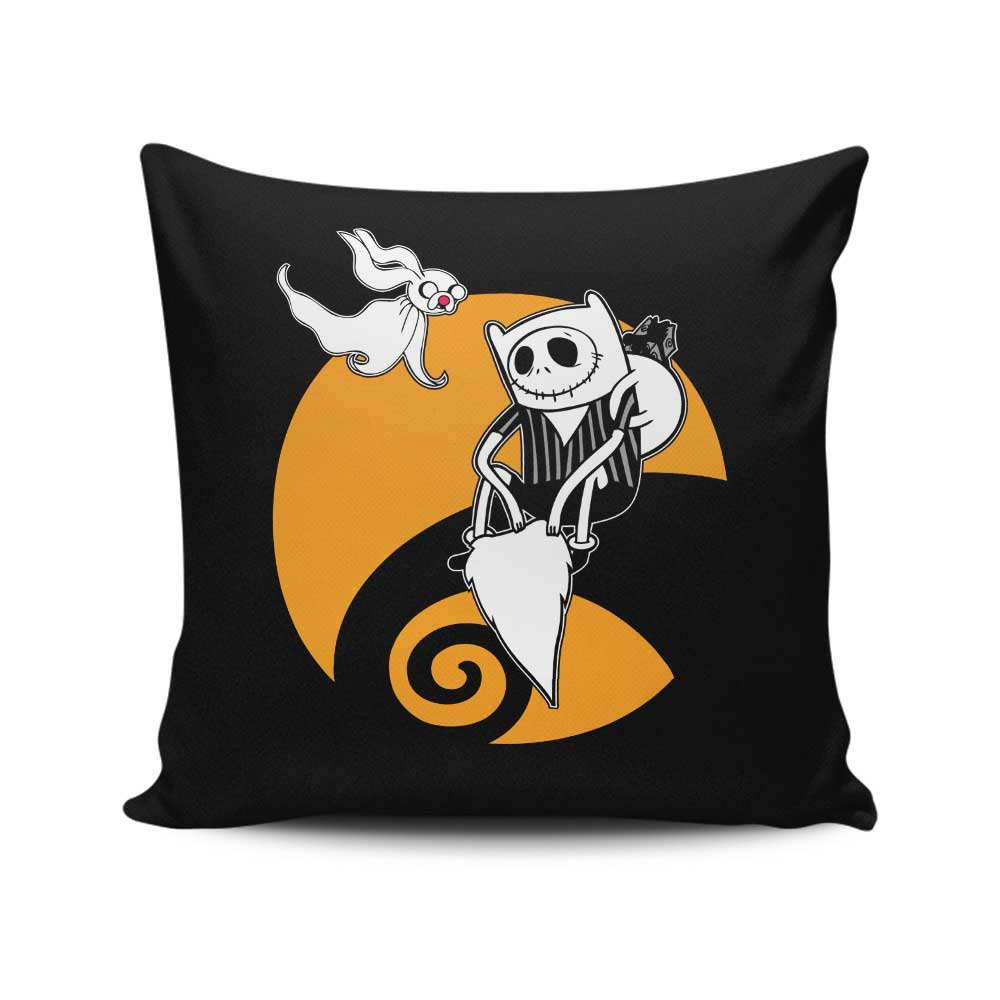 Adventure Before Christmas - Throw Pillow