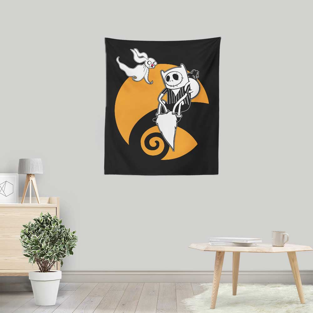 Adventure Before Christmas - Wall Tapestry