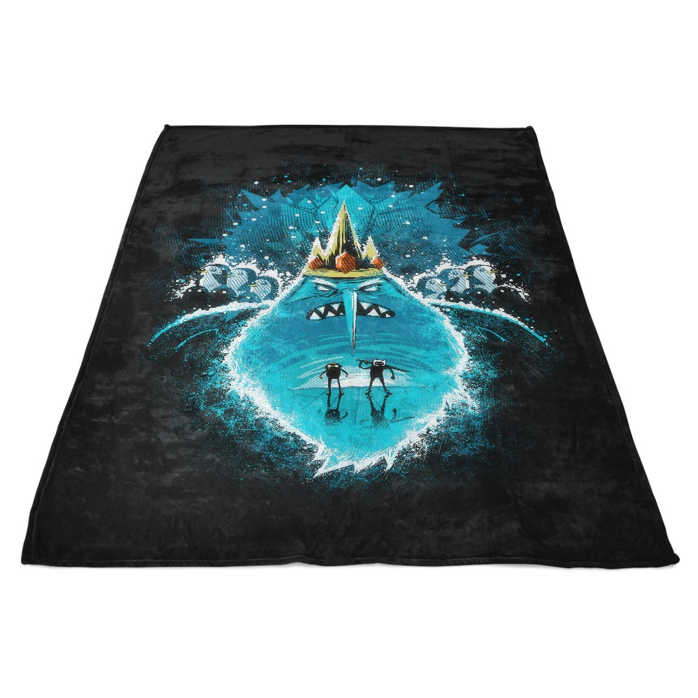 Adventure Nightmare - Fleece Blanket