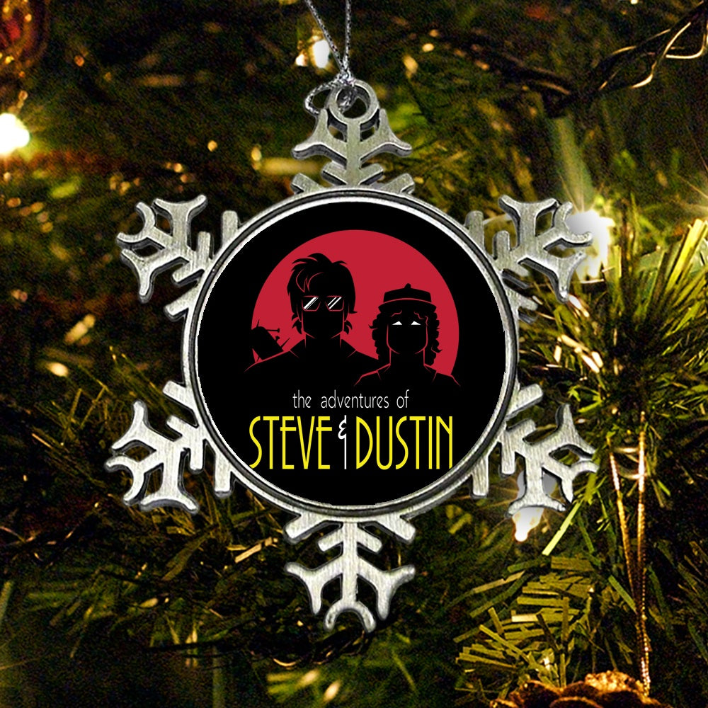 Adventures of Steve and Dustin - Ornament