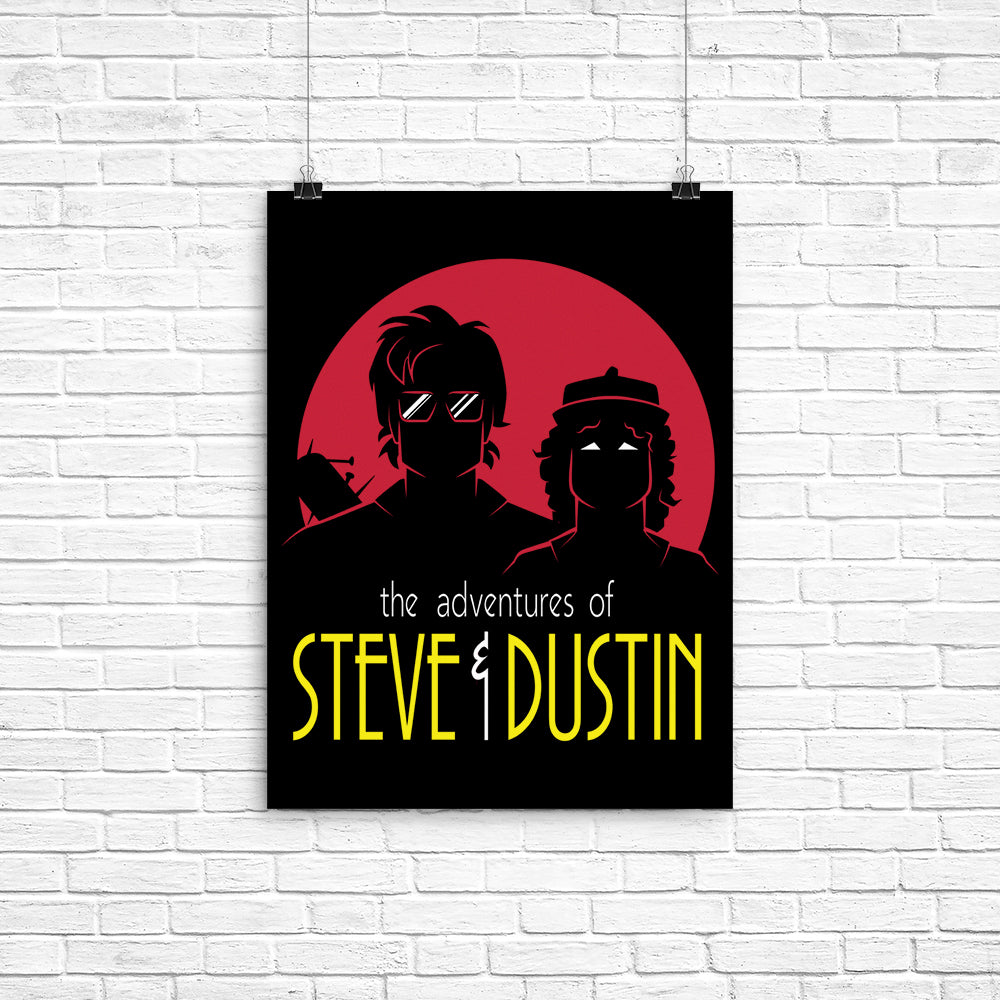 Adventures of Steve and Dustin - Poster