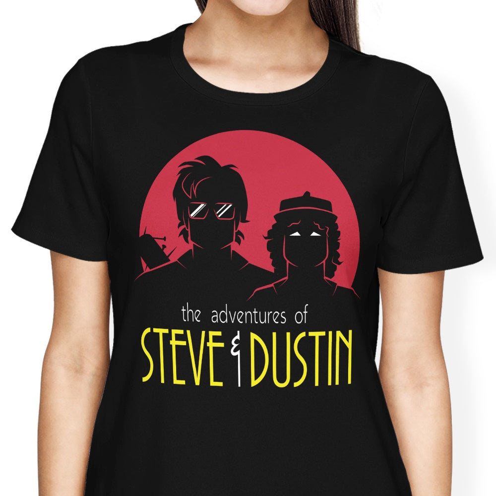Adventures of Steve and Dustin - Women's Apparel