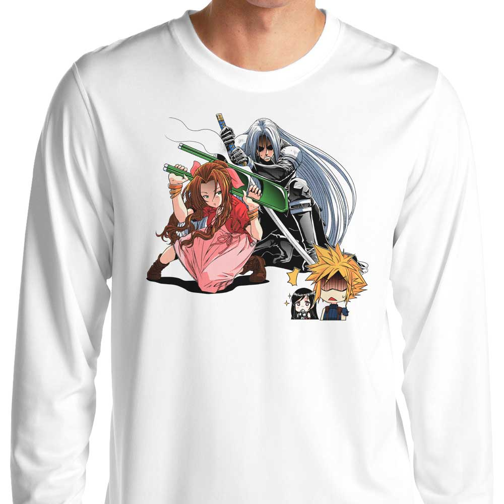 Aerith Ultimate Weapon - Long Sleeve T-Shirt