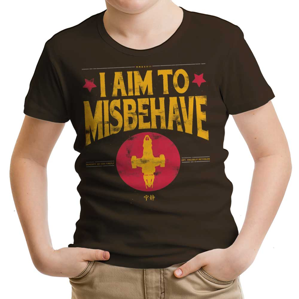 Aim to Misbehave - Youth Apparel