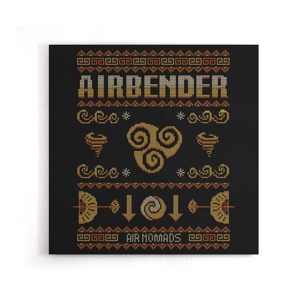 Air Nomad's Sweater - Canvas Print