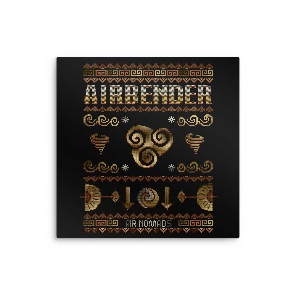 Air Nomad's Sweater - Metal Print