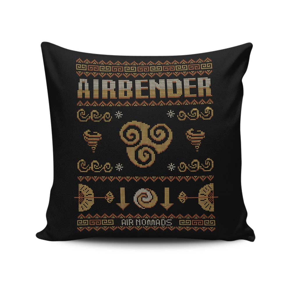 Air Nomad's Sweater - Throw Pillow