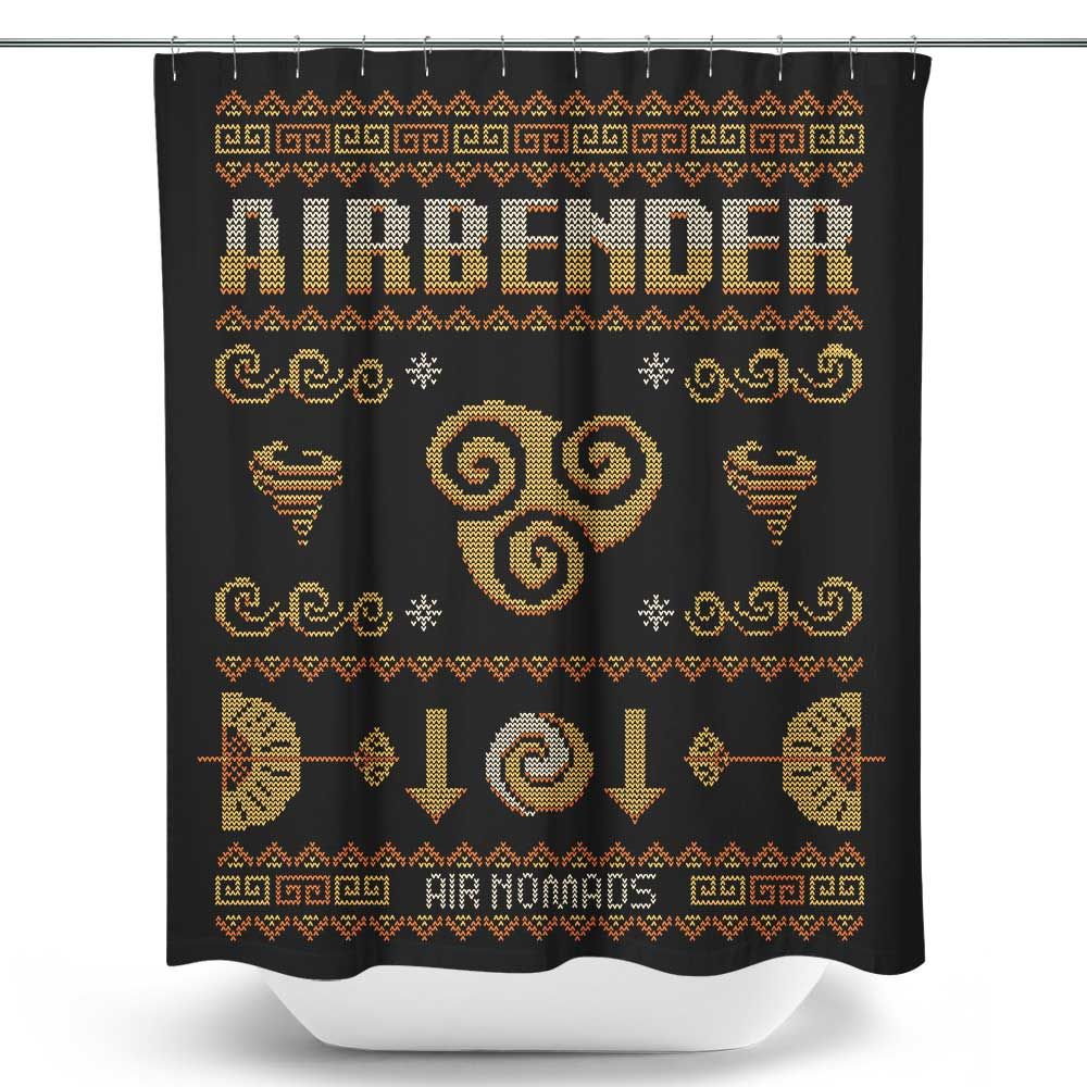Air Nomad's Sweater - Shower Curtain