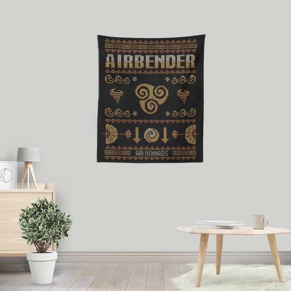 Air Nomad's Sweater - Wall Tapestry