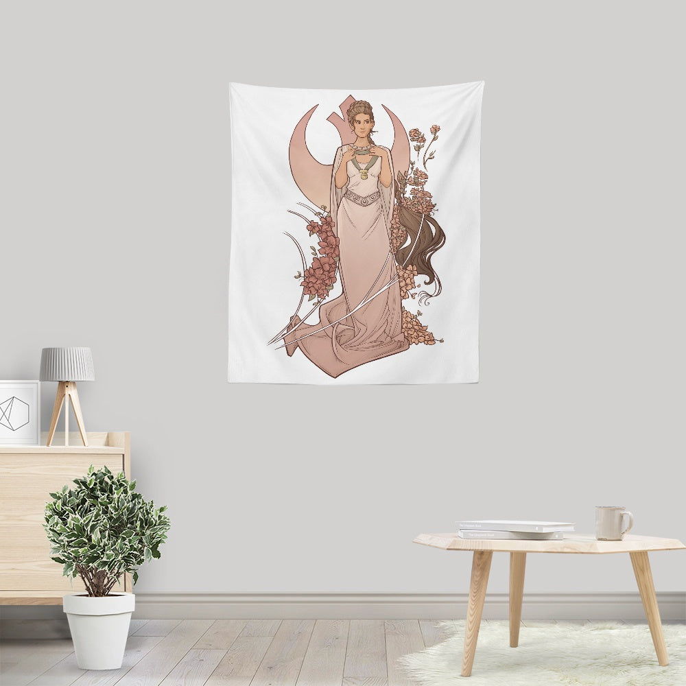 Alderaan Rose - Wall Tapestry