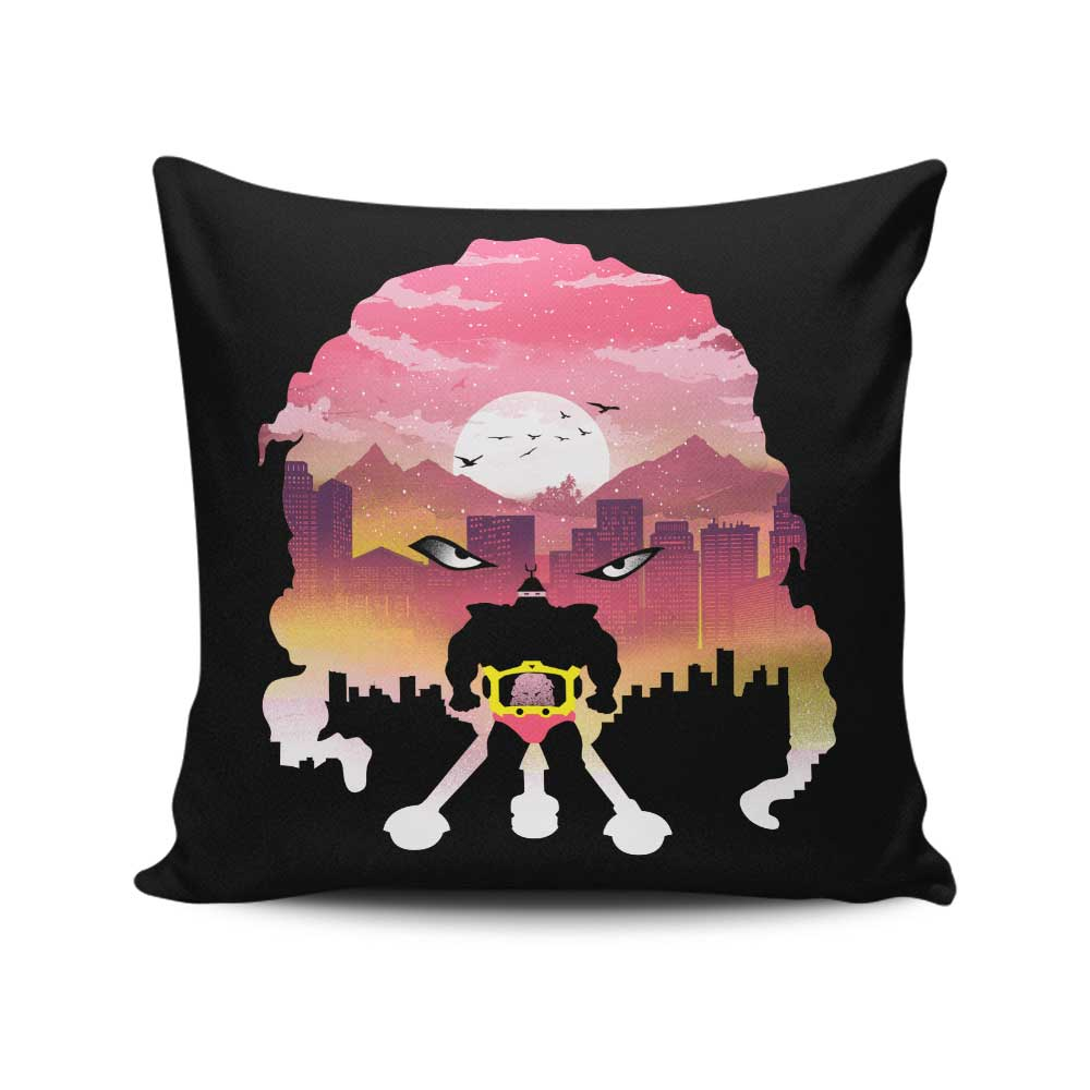 Alien Warlord - Throw Pillow