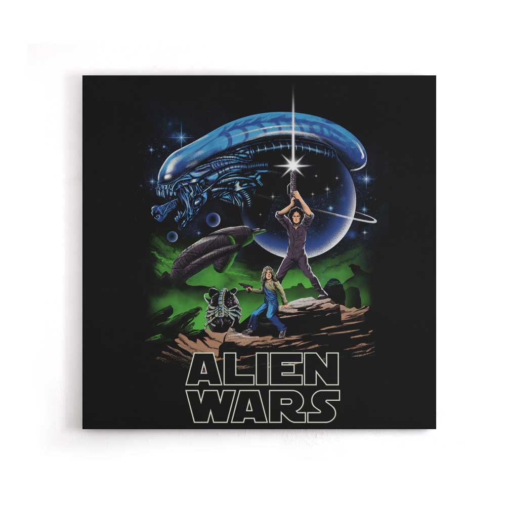 Alien Wars - Canvas Print