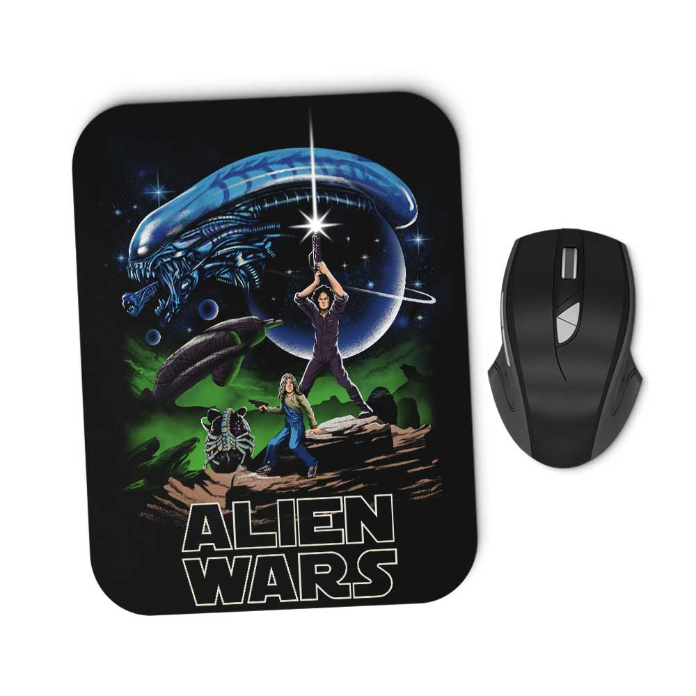 Alien Wars - Mousepad
