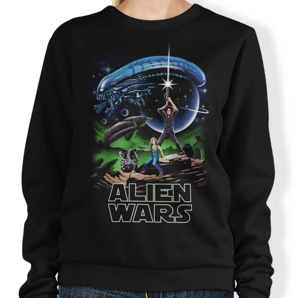 Alien Wars - Sweatshirt