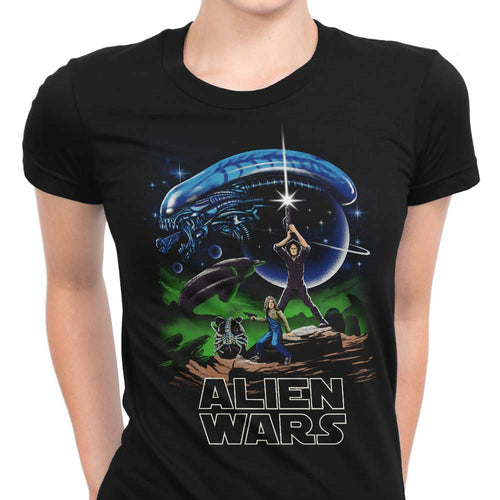 Alien Wars - Women's Apparel