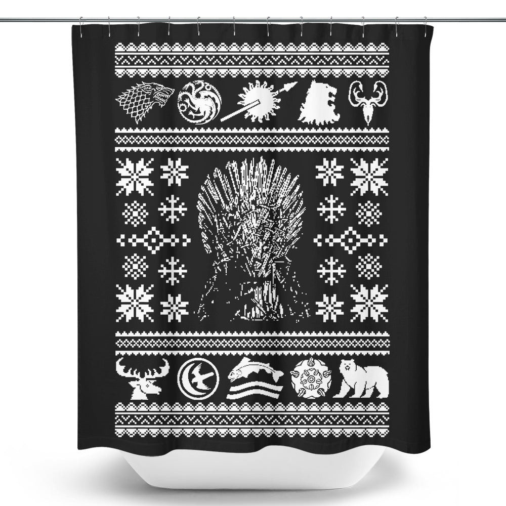 All I Want for Christmas - Shower Curtain