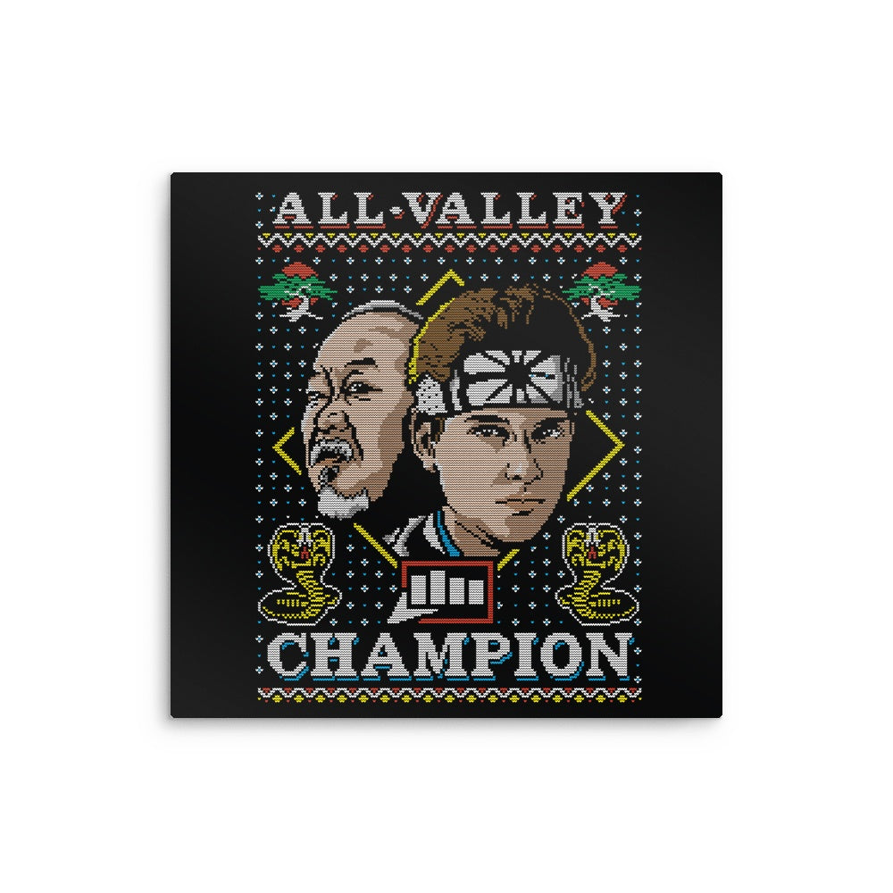 All Valley Holiday - Metal Print
