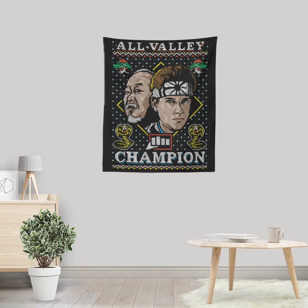 All Valley Holiday - Wall Tapestry