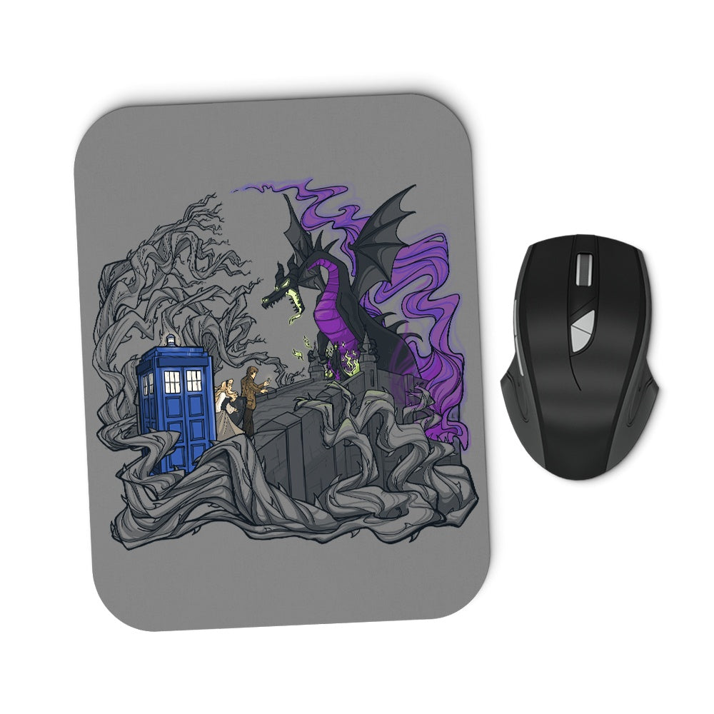 And Now You Deal with Me O' Doctor - Mousepad