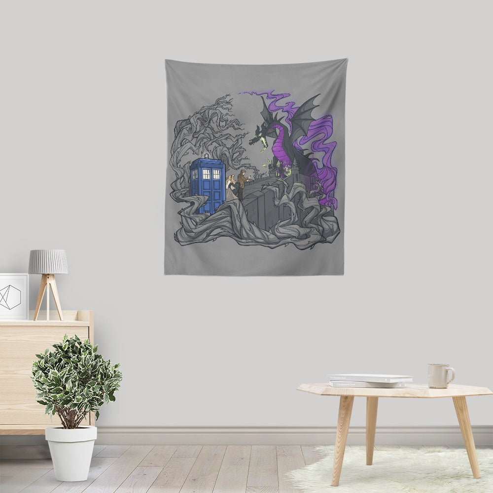 And Now You Deal with Me O' Doctor - Wall Tapestry