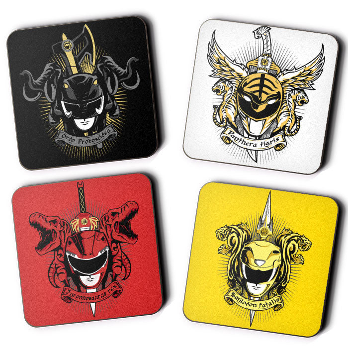 Angel Grove Collection: Series I - Coasters