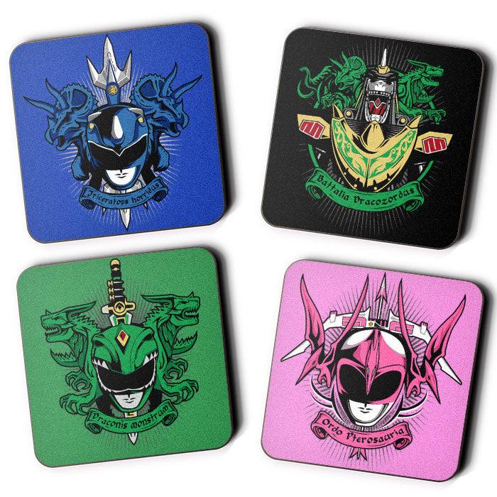 Angel Grove Collection: Series II - Coasters