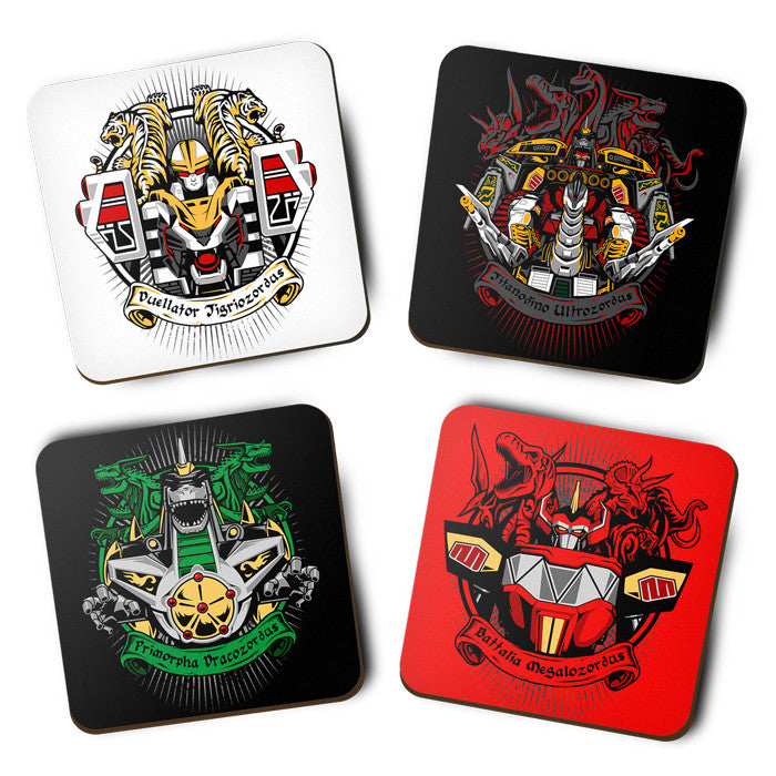 Angel Grove Collection: Series III - Coasters