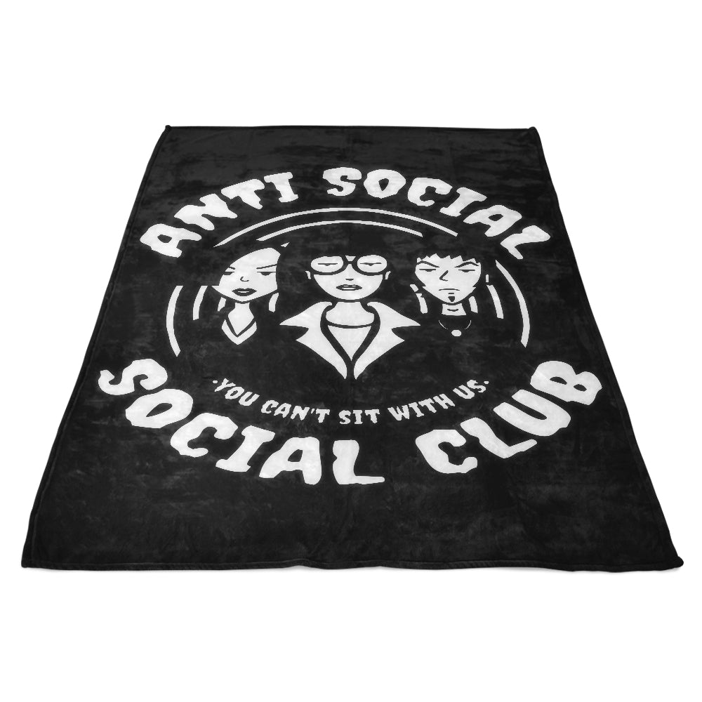 Antisocial - Fleece Blanket