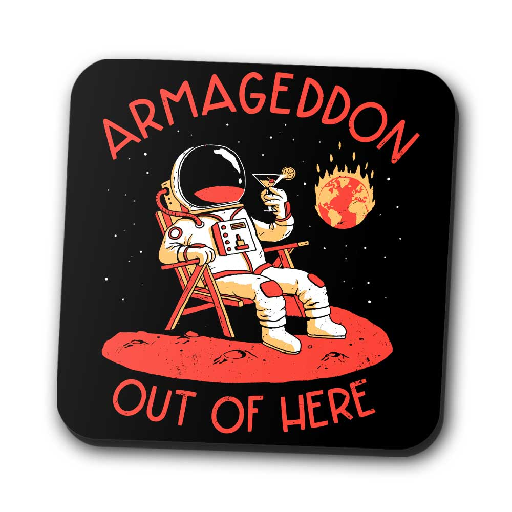 Armageddon Out of Here - Coasters