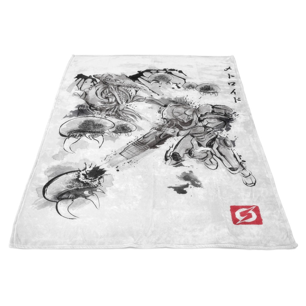 Attack of the Space Pirates - Fleece Blanket
