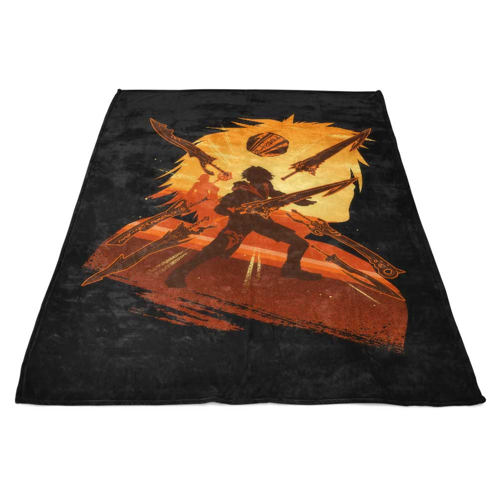 Attack of Tidus - Fleece Blanket