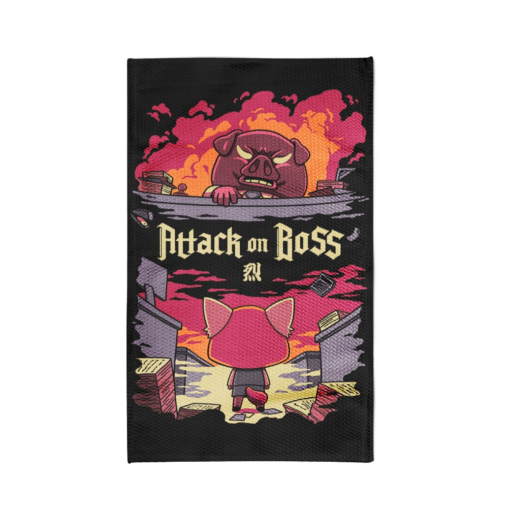 Attack on Boss - Rug