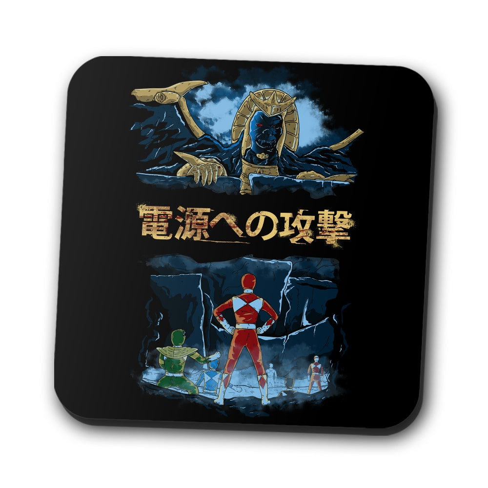Attack on Goldar - Coasters