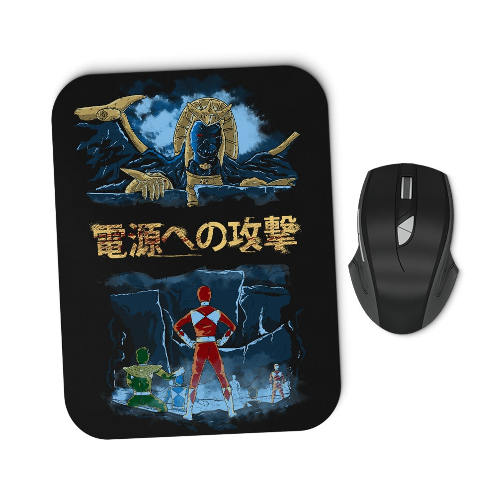 Attack on Goldar - Mousepad